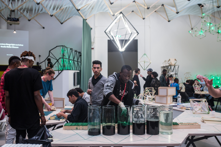 Moroso supports Olafur Eliasson • Venice Biennale